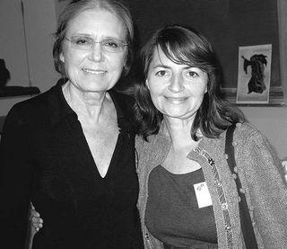 Gloria with Elisa
