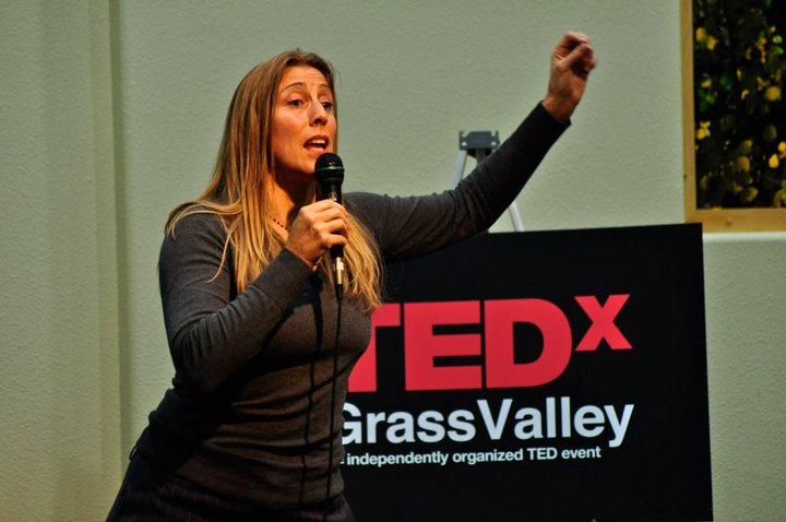 Reinette at TEDxGrassValley