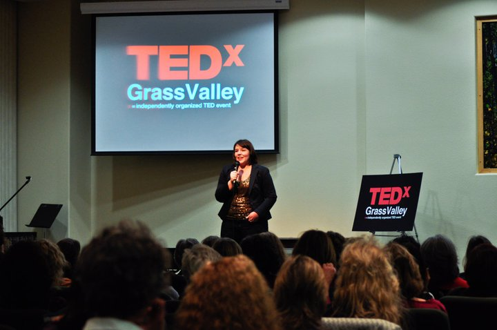 Jesse at TEDxGrassValley