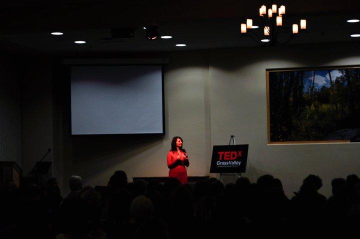 Elisa at TEDxGrassValley